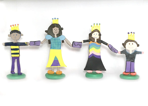 Kinder Figurine Family