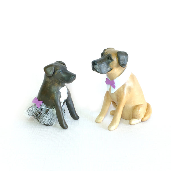 Realistic Dog Cake Topper