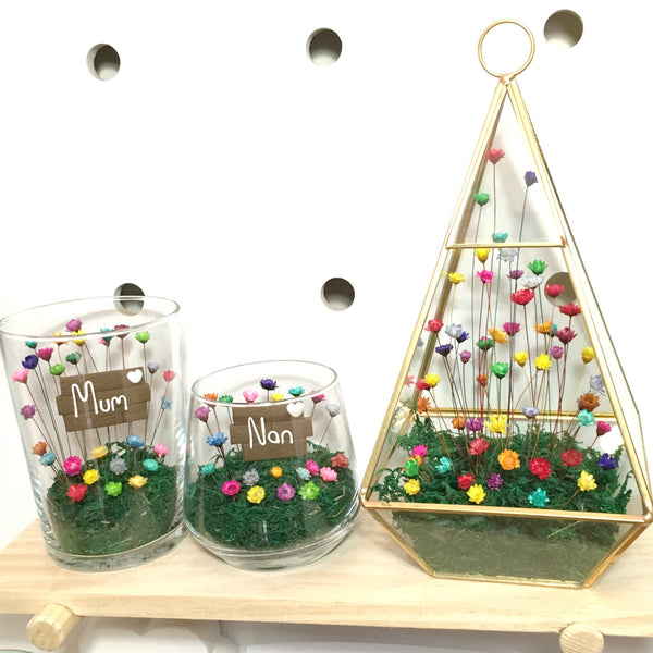 Terrarium Little Bloom set