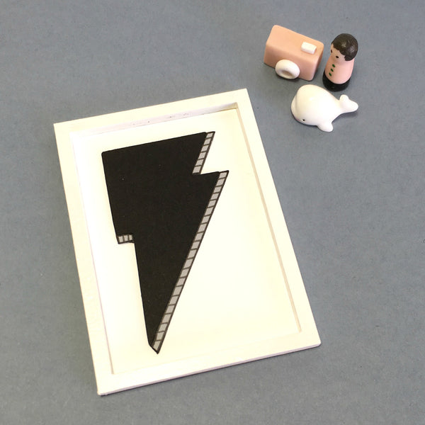 Miniature Framed Handcut Art by Paper Lee