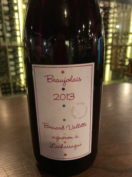 Bernard Vallette Beaujolais 2013