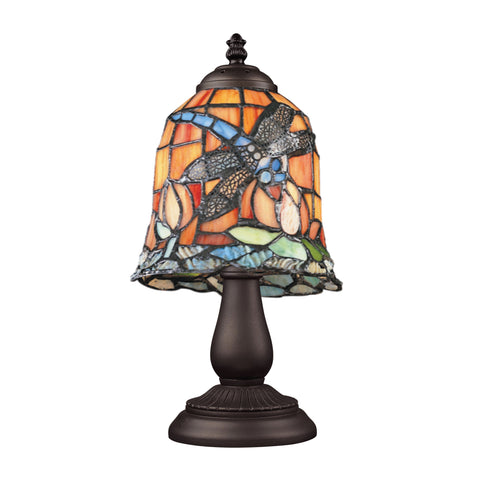 ELK Lighting  Mix-N-Match 1-Light Table Lamp in Tiffany Bronze