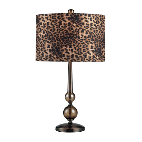 Alliance Table Lamp In Bronze Tone.