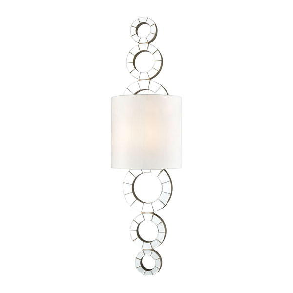Beautiful Dimond Lighting  Oheka Wall Sconce  in  Mirror