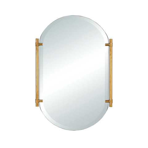 Beautiful Sterling  Actor's Chapel Wall Mirror  in  MDF, Mirror, Metal