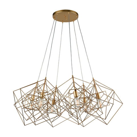 Beautiful Box Pendant Cluster for your Indoor Lighting.