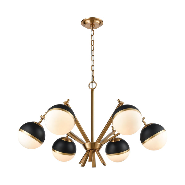 Beautiful Dimond Lighting Blind Tiger Chandelier