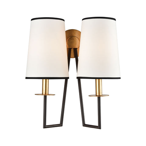 Beautiful Dimond Lighting On Strand Wall Sconce