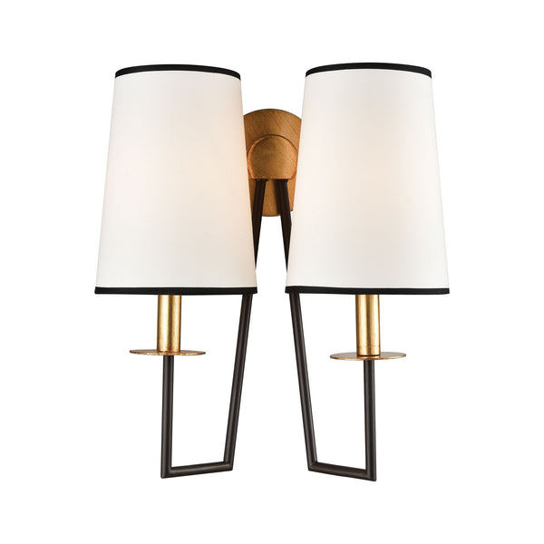 Beautiful Dimond Lighting  On Strand Wall Sconce  in  METAL