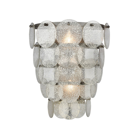 Beautiful Dimond Lighting  Airesse Wall Sconce  in  Glass, Metal