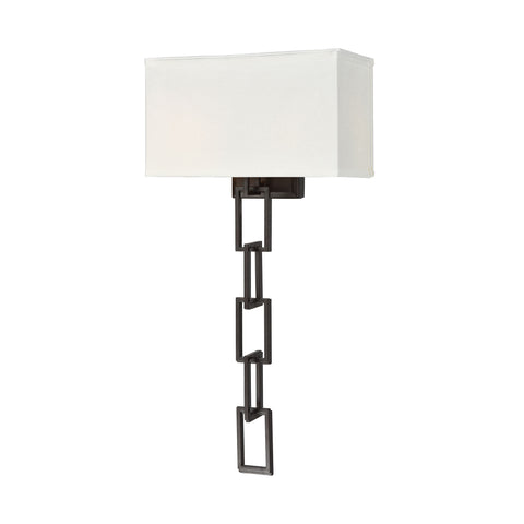 Beautiful Dimond Lighting  Anchorage Wall Sconce  in  METAL