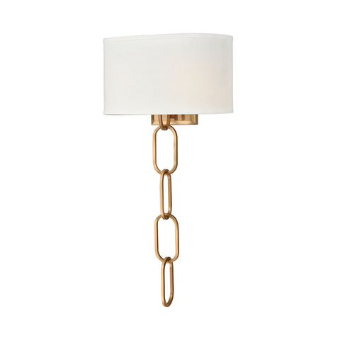 Beautiful Dimond Lighting  Tiger by the Tail Wall Sconce  in  METAL