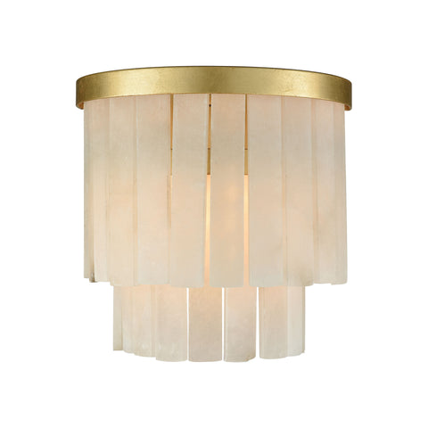 Beautiful Dimond Lighting  Orchestra Sconce  in  Marble, Metal