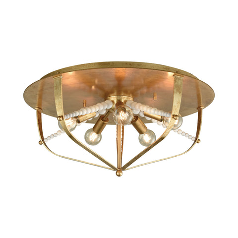 Beautiful Mercury Flush Mount for your Indoor Lighting.