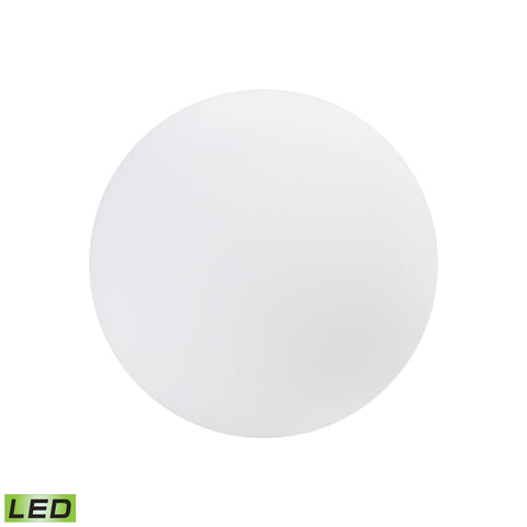 Beautiful Sterling  JIBE Outdoor Light Orb  in  LINEAR LOWDENSITY POLYETHYLENE