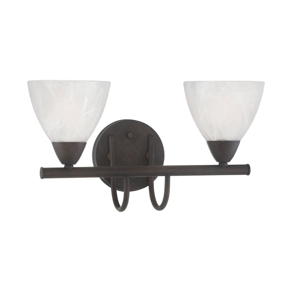 Thomas TIA wall lamp Painted Bronze 2x100W 120
