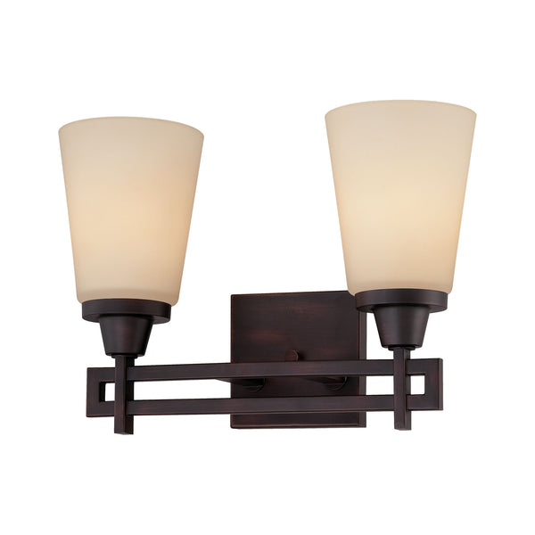 Thomas WRIGHT wall lamp Espresso 2x100W 120V