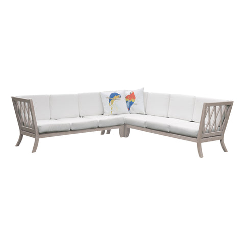 Beautiful GuildMaster  Hilton Outdoor Sectional Cushions - Set of 15  in  Acrylic Fabric