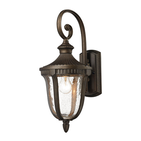 Worthington 1 Light Outdoor Sconce In Hazlenut Bronze