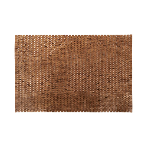 Beautiful GuildMaster  Outdoor Wooden Rug-71  in  Teak