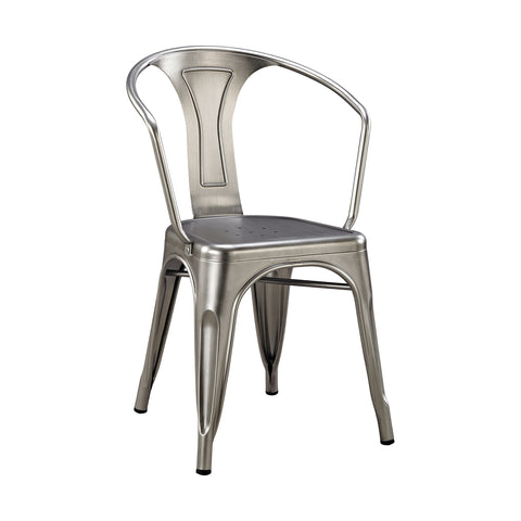 Beautiful Sterling  Acento Chair  in  Metal