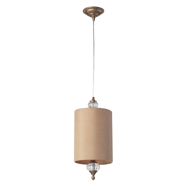 Dalton 1 Light Pendant In Mocha