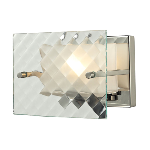 Talmage 1 Light Vanity In Brushed Nickel