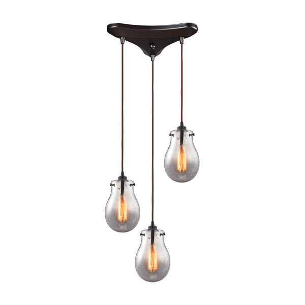 Jaelyn 3 Light Pendant In Oil Rubbed Bronze