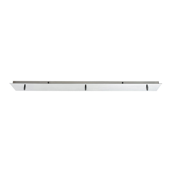 Illuminaire Accessories 3 Light Linear Pan In Polished Chrome