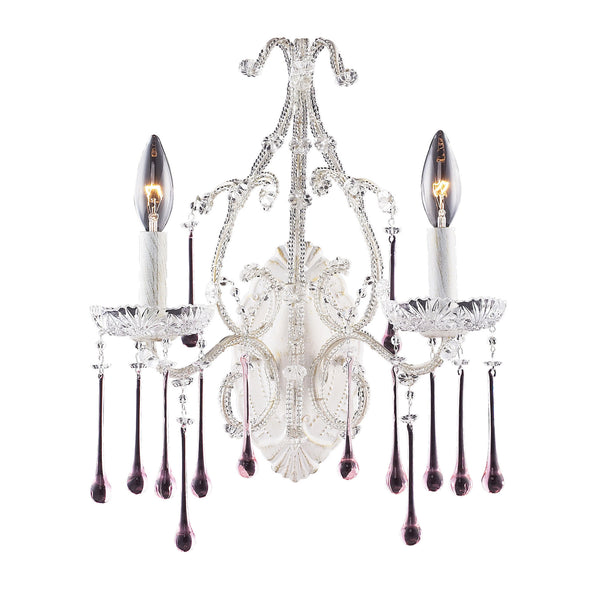 Opulence Rose Crystal Set For Fixtures 4000-4010