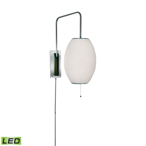 Beautiful Dimond Lighting  Cigar LED Swingarm Wall Sconce In White  in  Metal