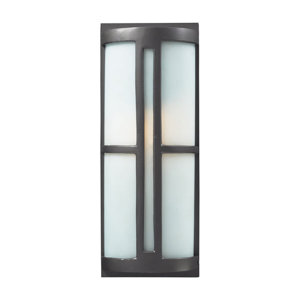 Trevot 1 Light Outdoor Sconce In Graphite