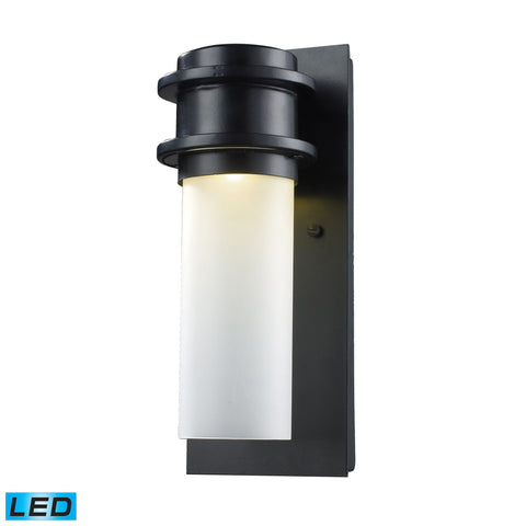Elk Freeport 1 Light Outdoor LED Wall Sconce In Matte Black Outdoor Wall item number 43010/1