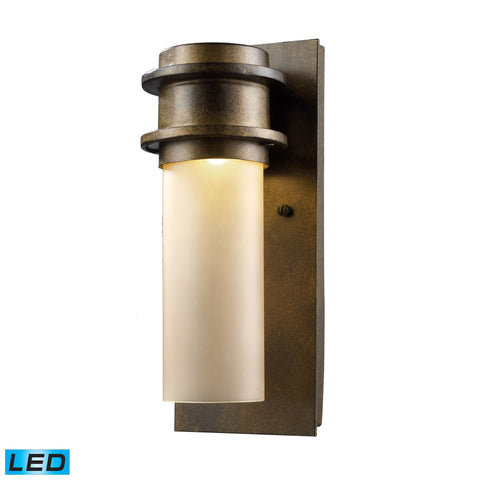 Elk Freeport 1 Light Outdoor LED Wall Sconce In Hazelnut Bronze Outdoor Wall item number 43020/1