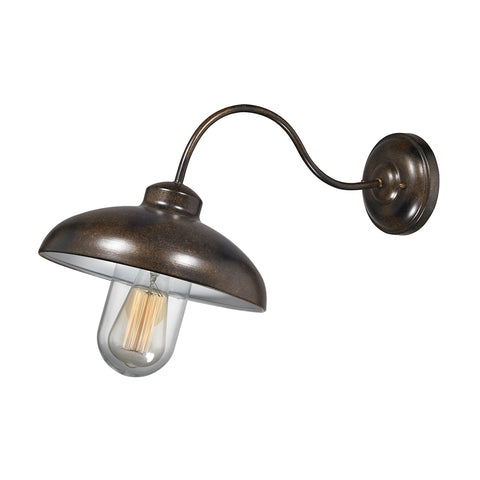 Barnside 1 Light Outdoor Sconce In Hazelnut Bronze