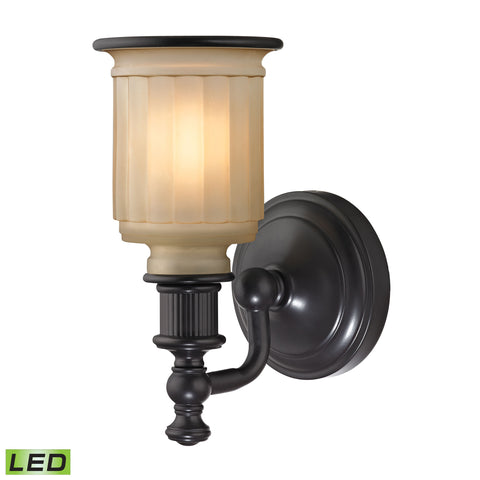 Elk Acadia 1 Light LED Vanity In Oil Rubbed Bronze Vanity item number 52010/1-LED