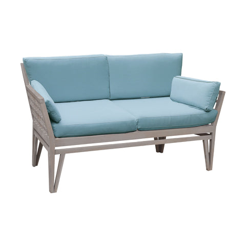 Beautiful GuildMaster  Newport Outdoor Love Seat  in  Teak