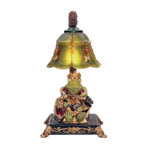 Sterling Resting Queen Frog Mini Table Lamp