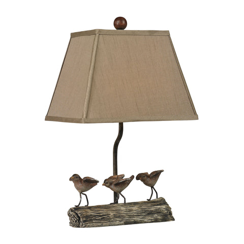 Sterling Little Birds On A Log 1 Light Table Lamp