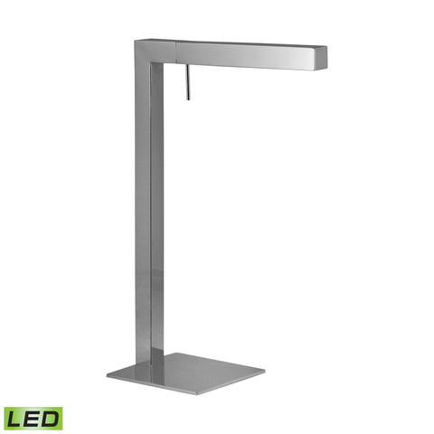 Beautiful Dimond Lighting Chrome LED Desk Lamp