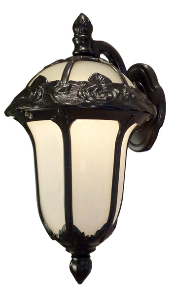 Rose Garden F-2711-ORB-AB Medium Top Mount Light with Alabaster Glass