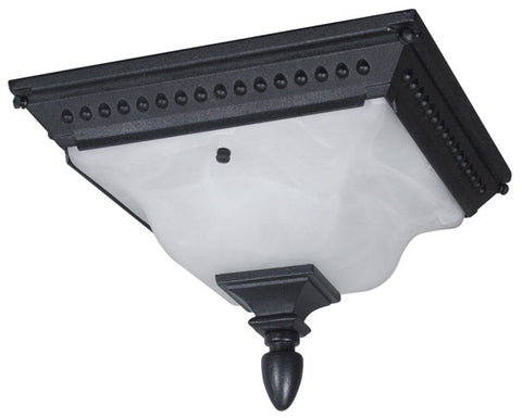 Abington F-2753-BLK Flush Mount Light