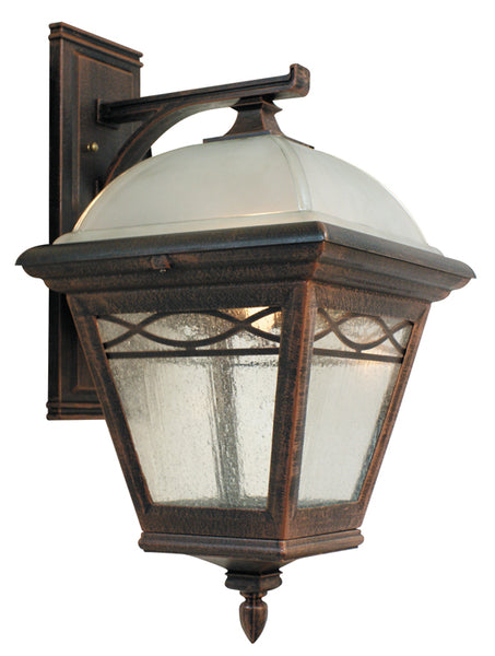 Brentwood F-2831-CP  Medium Top Mount-Closed Bottom Light