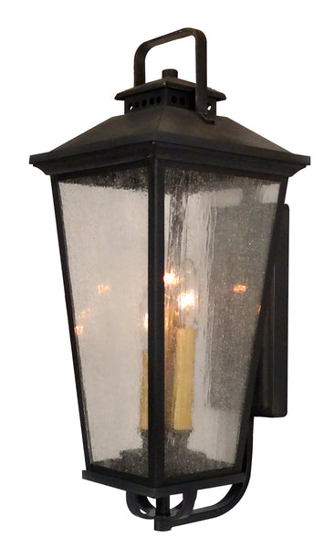 Alexandria F-2877-BLK Medium Bottom Mount Exterior Light Fixture