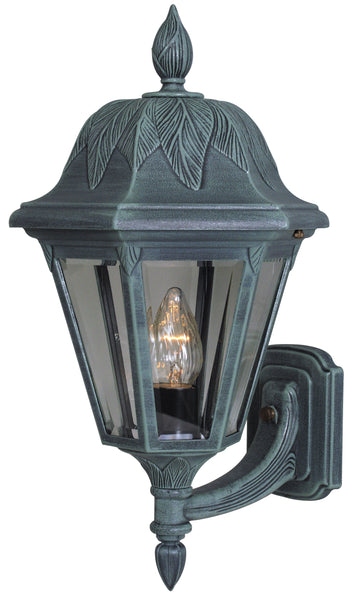 Floral 3947-VG-BV Large Bottom Mount Light Fixture with Short Tail