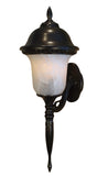 Glenn Aire F-2995-ORB-AB Medium Bottom Mount Light with Alabaster Glass