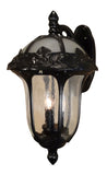 Rose Garden F-3711-ORB-SG Large Top Mount Light with Seedy Glass