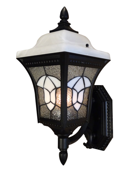 Abington F-4987-BLK Estate Bottom Mount Light
