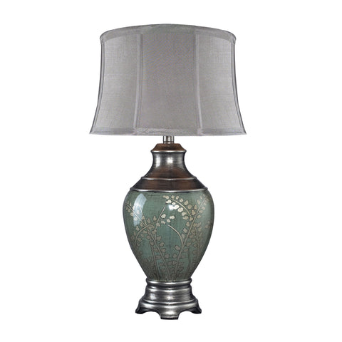 Beautiful Biltmore Westvale Table Lamp In Handpainted Pinery Green Finish for your Indoor Lighting.