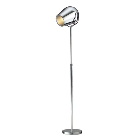 Beautiful Champlain Adjustable Floor Lamp in Chrome for your Indoor Lighting.